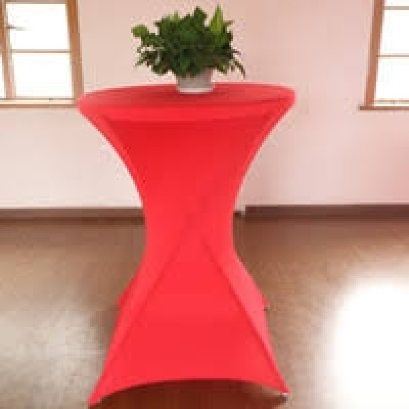 24 X 42 Inch Highboy Round Fitted Spandex Table Cloth For
