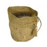 100% Jute natural Burlap Planter bags 11 x 9 x 6