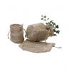 Burlap Plant bag natural 7.5 x 6 x 4