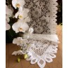 Lace Table Runner Ivory 13 x 120