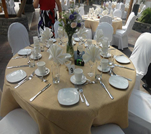 Burlap Amp Polyester Tablecloths And Linens