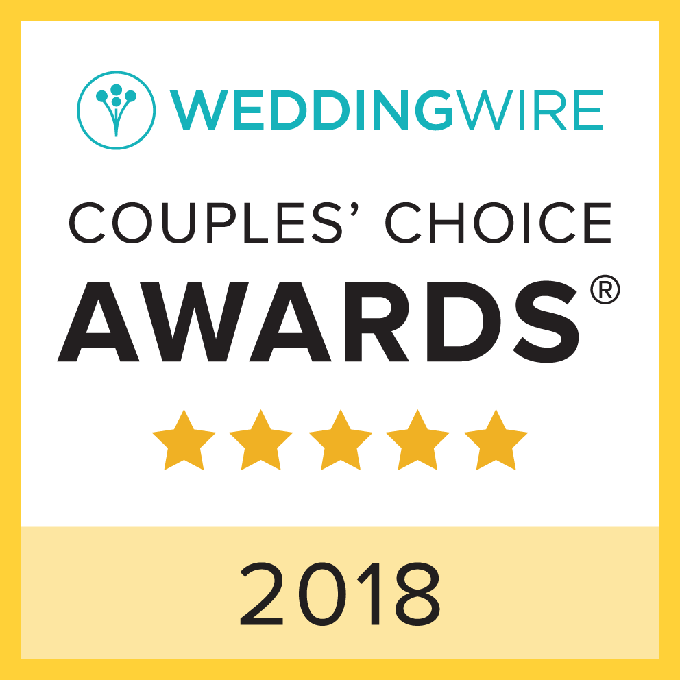 Wedding Wire 2018 Couples' Choice Award