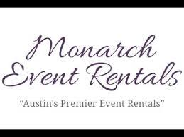 Monarch Event Rentals | Austin's Premier Event Rentals