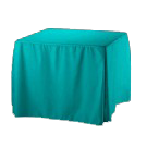Polyester Square Fitted Tablecloth